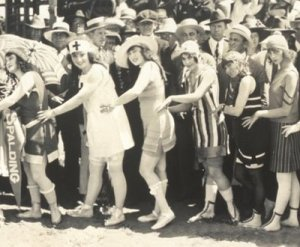 1918 Bathing Suit Parade