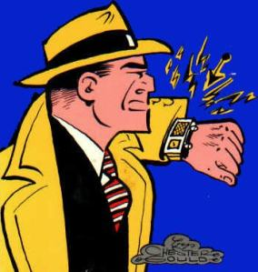 Dick Tracy - Copyright Chester Gough