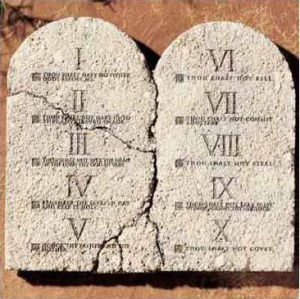 Graphics - MDC - 10 Commandments Tablets