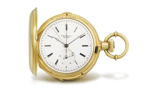 Graphics - MDS - Gold Pocket Watch
